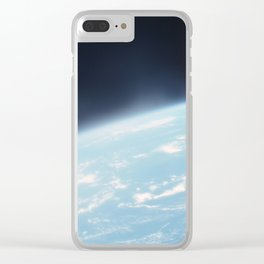 Earth from the sky 2 Clear iPhone Case