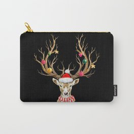 Christmas Deer 2 Carry-All Pouch