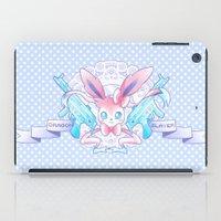 sylveon iPad Cases featuring Dragon Slayer: Sylveon by oops