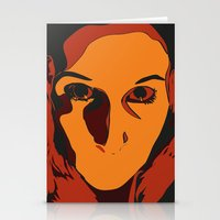 horror Stationery Cards featuring Horror by Square Lemon
