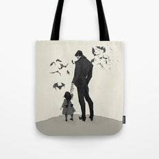 Father Daughter Time Tote Bag