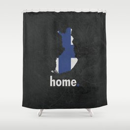 Finland Proud Shower Curtain