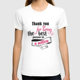 Thank You For T-shirt