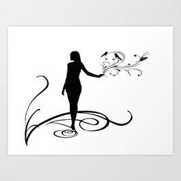 Black Girl Magic Canvas Prints | Society6