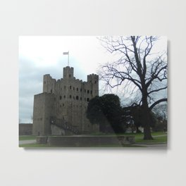 Rochester Castle Metal Print