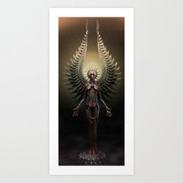 And You Shall See the Shades which She Becomes.  Art Print