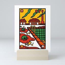 Oh What a World, What a World Mini Art Print
