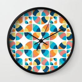 2015 Pattern Collection: Spring Wall Clock