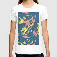 camo T-shirts featuring Bright Camo by lalaprints