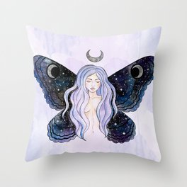 Cosmic Fairy Throw Pillow