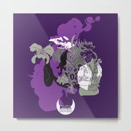Inflorescencia Metal Print