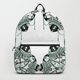 Bejewelled pattern Backpack