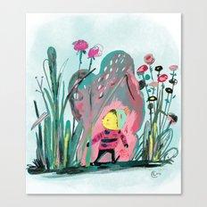 Tiny Adventurer Canvas Print