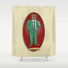 Tarka Liotta Shower Curtain