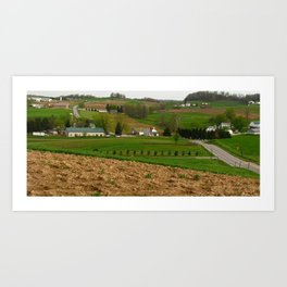 County Road 600 Art Print