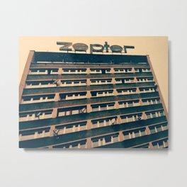 Zep Metal Print