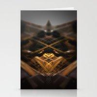 brussels Stationery Cards featuring rorschach sablon brussels church by KoZtar