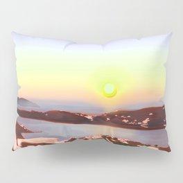 Sunset in Ios Pillow Sham