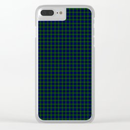 Murray Tartan Clear iPhone Case