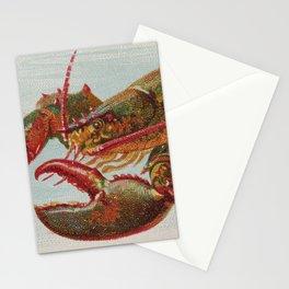 Vintage Illustration of a Lobster (1889) Stationery Cards