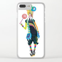 Decora Clear iPhone Case