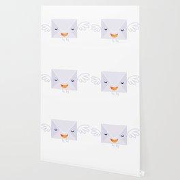 Fly envelope letters Wallpaper