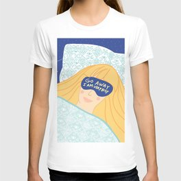 Sleepy Head & Evil Eye #illustration T-shirt