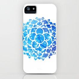 Sahasrara blue iPhone Case