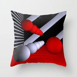 3D-geometry -11- Throw Pillow