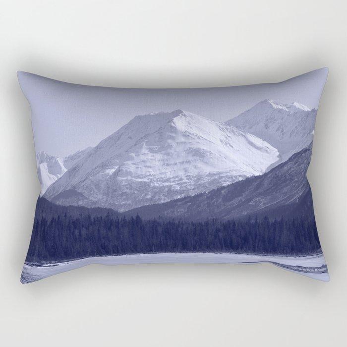 Tern Lake - Mono 1 Rectangular Pillow