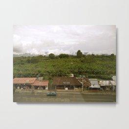 Zona Cafetera Metal Print