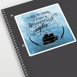 Delightfully complex quote - Nikolai Lantsov - Leigh Bardugo Sticker