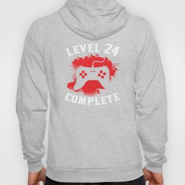Level 24 Complete 24th Birthday Hoody
