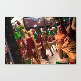 CHRISTMAS IN HOLLYWOOD - day eleven color Canvas Print