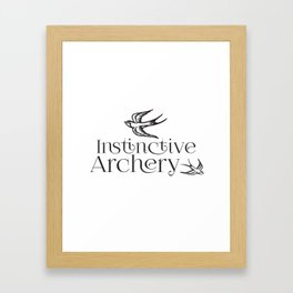 Instinctive Archery Framed Art Print