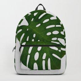 Monstera Leaf I Backpack
