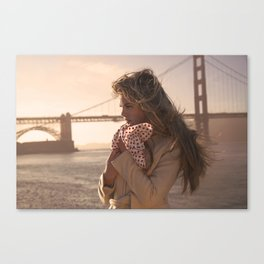 Leading Lady Canvas Print