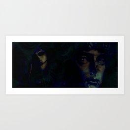 Glem Art Print
