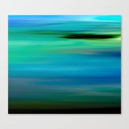 Seascape - blurography Canvas Print