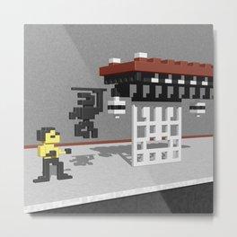 BruceLee Commodore 64 game tribute Metal Print