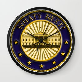 What's Next? Wall Clock