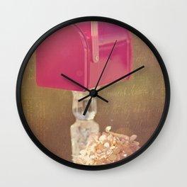 Sending out Love Wall Clock