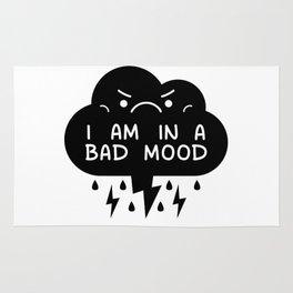 I Am In A Bad Mood - Storm Cloud Rug