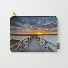 Bolsa Chica Wetlands Sunrise  6/18/14 Carry-All Pouch