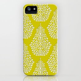 SPIRIT lime white iPhone Case