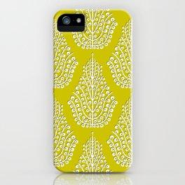 SPIRIT lime white iPhone Case