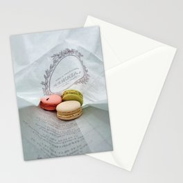 Macarons La Durée Stationery Cards