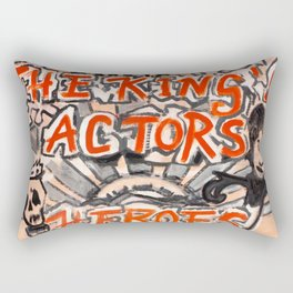 Heroes of the Globe Rectangular Pillow