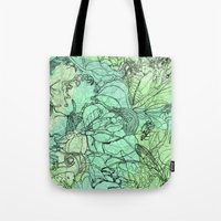 insects Tote Bags featuring Insects by David Bushell