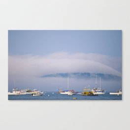 A Blue Summer Day Canvas Print
